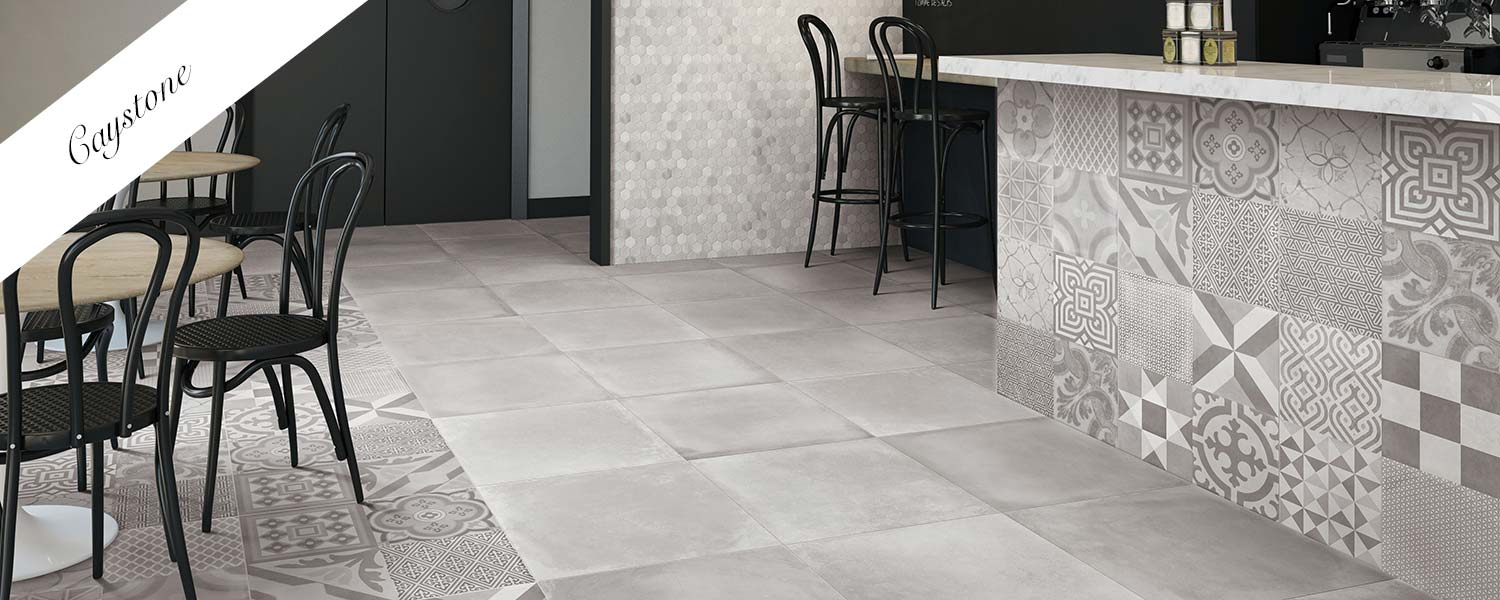 Caystone tiles