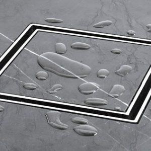 Bermida Floor Waste Chrome Square Megaflex