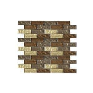 Gold Mix Mosaic wall tiles