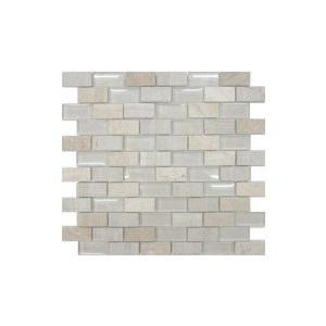 Limestone Mix Mosaic wall tiles