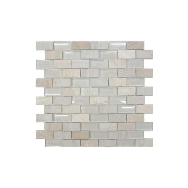 Limestone Mix Mosaic wall tiles