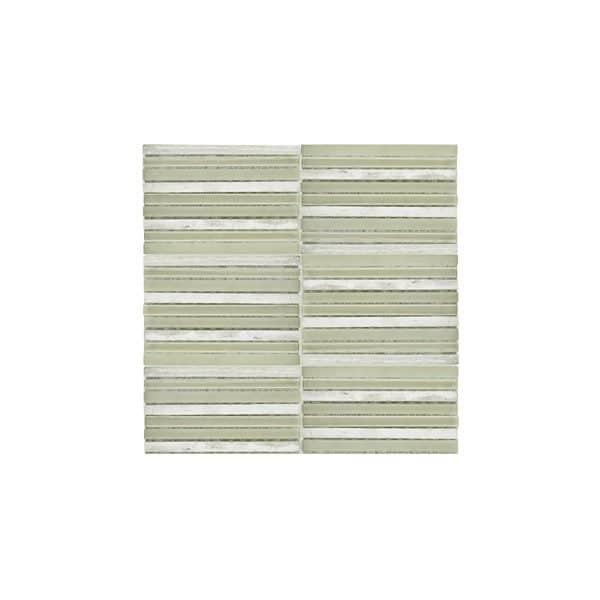 Birch Mix Mosaic wall tiles
