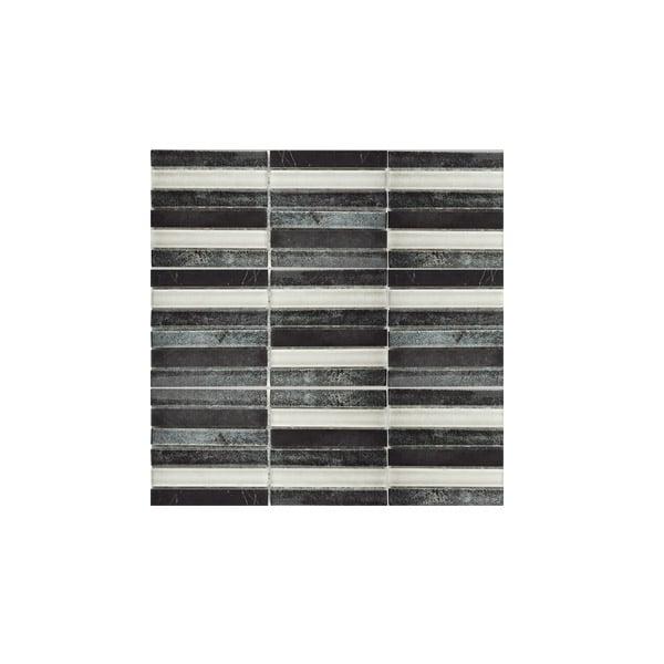 Coal Mix Mosaic wall tiles