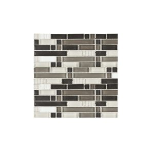 Double Choc Mix Mosaic wall tiles
