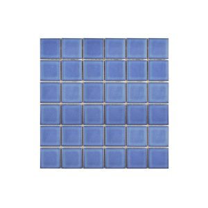 Gloss Light Blue Mosaic wall tiles