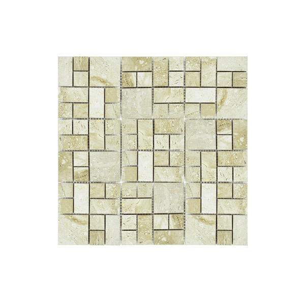 Marble Spider Beige Mosaic Wall tile