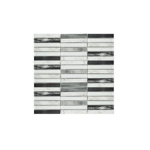 Coal Mix Mosaic wall tiles