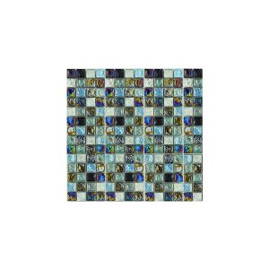 Essential Features Blue Thunder Glass Mosaic Wall tiles
