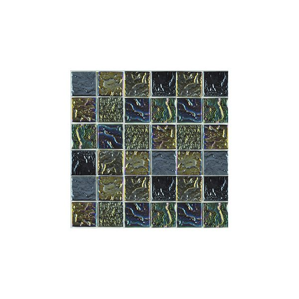 Essential Features Brookwater Metallic look Glass mosaic tiles