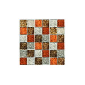 Essential Features Cleft Urban Glass Mosaic Feature tiles