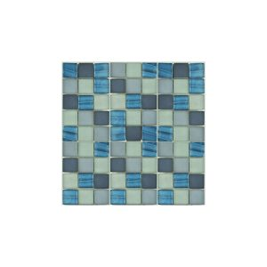 Essential Features Maya Ocean Glass Mosaic Wall tiles
