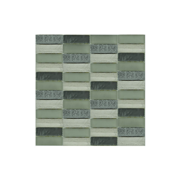 Essential Features Motifs Glass Mosaic Wall tiles
