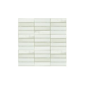 Essential Features Natural White Luster Glass Mosaic Wall tiles