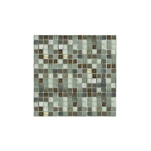 Essential Features Slate Valley Glass Mosaic Wall tiles