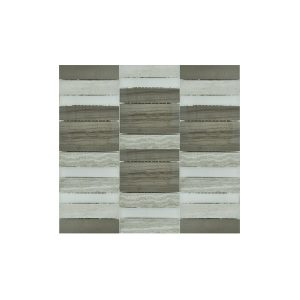 Essential Features Softwood Glass Mosaic Wall tiles