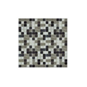 Essential Features Zodiac Black Glass Mosaic Wall tiles