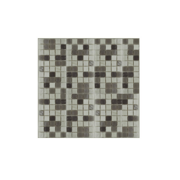 Essential Features Zodiac Grey Glass Mosaic Wall tiles