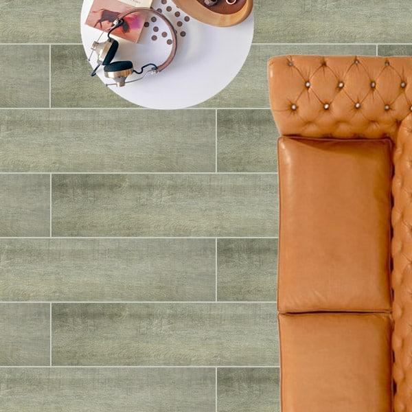 Crown Walnut timber look tiles