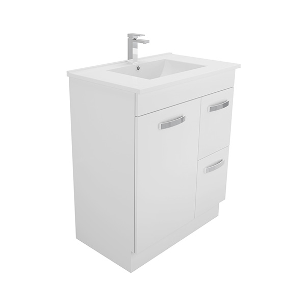 750 Universal Kickboard Cabinet with Dolce Vita Vanity Top