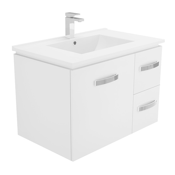 750 Universal Wall Hung Cabinet with Dolce Vita Vanity Top