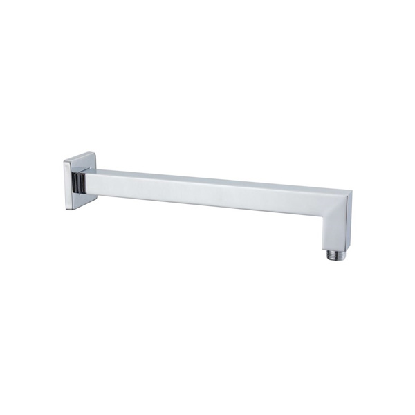 Square Wall Arm 380 Chrome