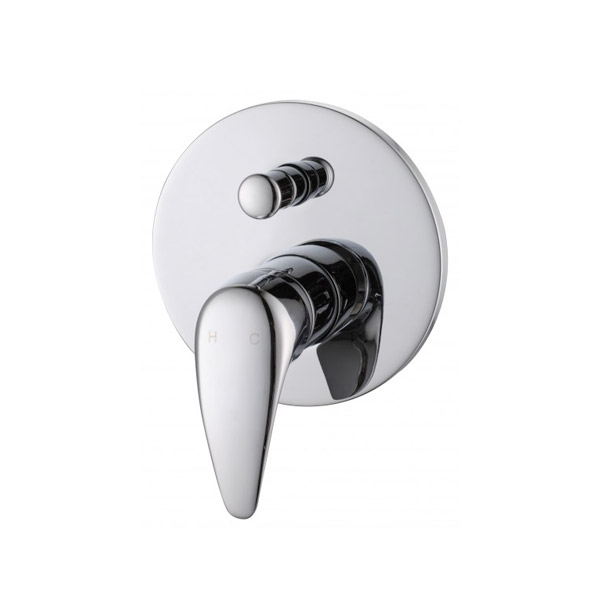 Eco Shower and Bath Wall Mixer Diverter