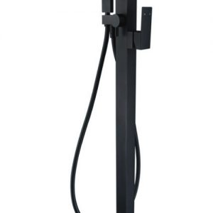 Jet Floor Mounted Mixer and Shower Matte Black