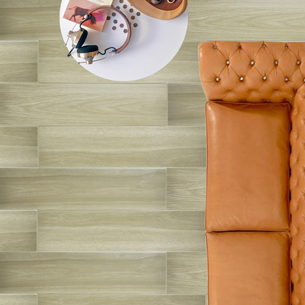 Acacia Oak Minimalistic Wood look tiles