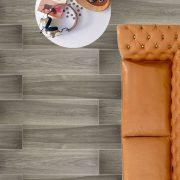 Acacia Walnut Minimalistic Wood look tiles
