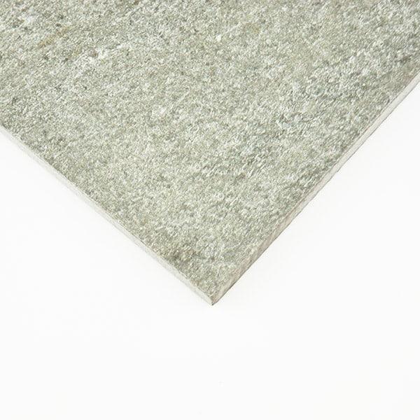 White quartz floor tiles 600x600