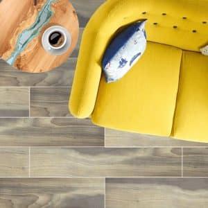Molten Roble timber look tiles