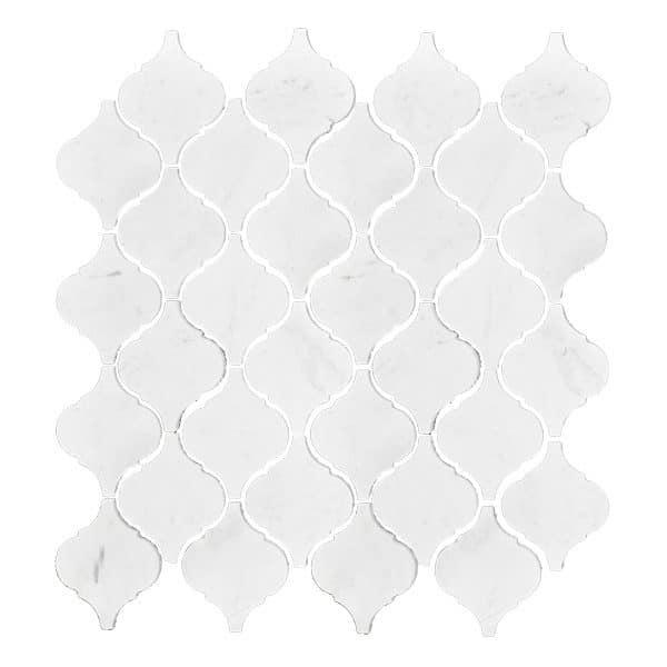 Calacatta Lantern Mosaic tiles