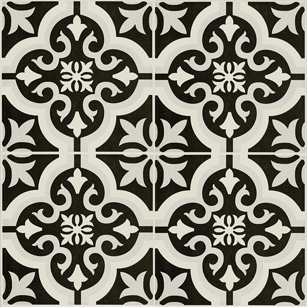 Cotto Braga Classic black tiles