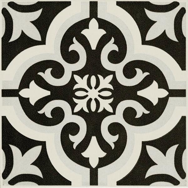Cotto Braga Classic black tiles