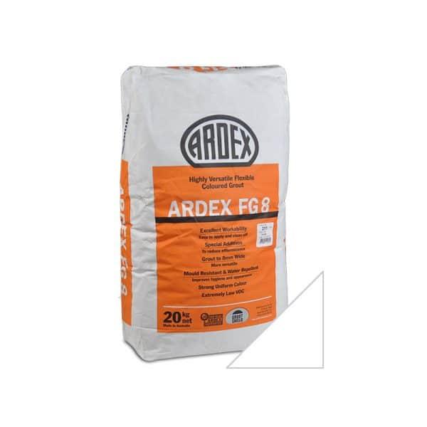 Ardex Grout FG8 20kg Ultra White