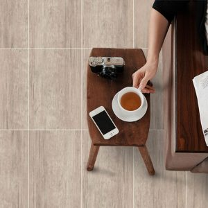 Bologna Grey timber look tiles