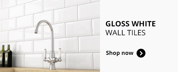Gloss White Wall tiles