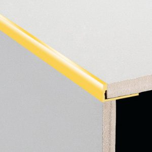 DTA Trim Aluminium Angle Bright Gold