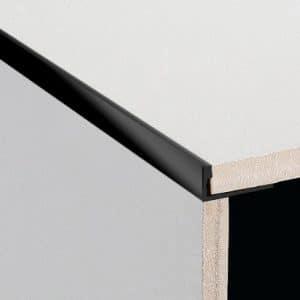 DTA Trim Aluminium Angle Gloss Black