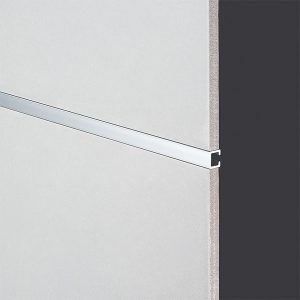 DTA Tile Trim Listello Bright Silver