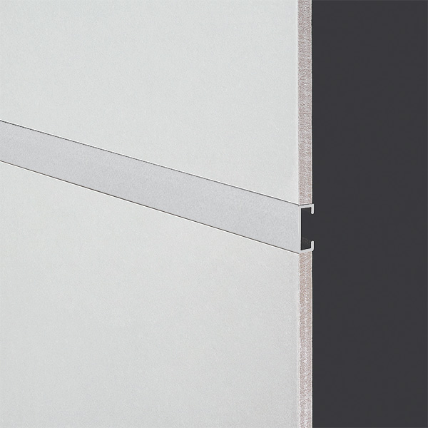 DTA Trim Listello 20mm Matte Silver