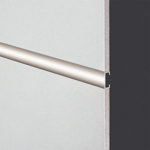 DTA Trim Listello 20mm Plain Aluminium