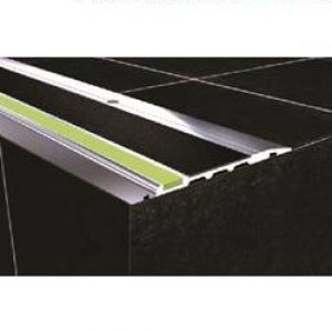 DTA Safety Trim black pvc anti-slip luminescent