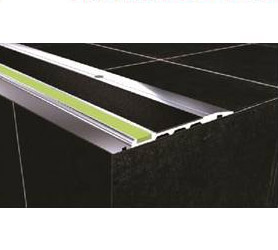 DTA Safety Trim black pvc anti-slip luminescent