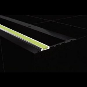 DTA Safety Trim black pvc anti-slip luminescent replacement
