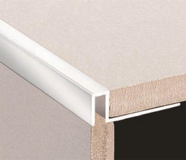 dta tile trim brass contempo edge 10mm chrome 2 8 metre