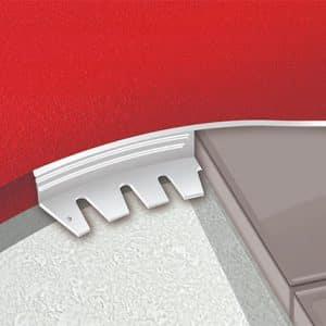 DTA Trim Alum Angle Formable Plain