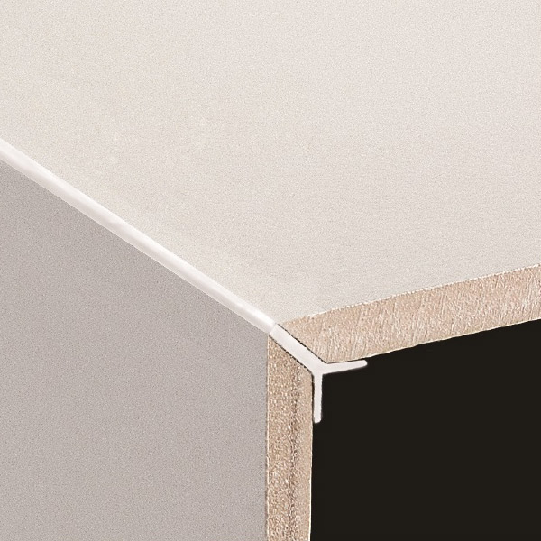 Dta Tile Trim Aluminium Y Angle 12mm Plain 3 Metre