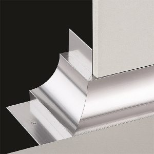 DTA Cove Corner Trim External Bright Silver