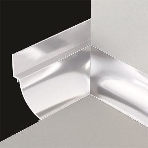 DTA Cove Corner Trim Internal Bright Silver